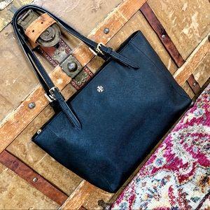 Tory Burch York Tote Like New Black Bag Small